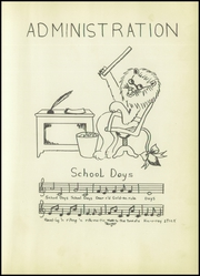 Page 15, 1953 Edition, Granger High School - Lions Paw Yearbook (Granger, TX) online yearbook collection