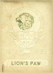 1955 Edition, Granger High School - Lions Paw Yearbook (Granger, TX)
