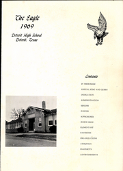 Page 5, 1969 Edition, Detroit High School - Eagle Yearbook (Detroit, TX) online yearbook collection
