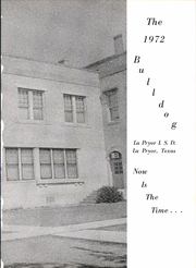 Page 5, 1972 Edition, La Pryor High School - Bulldog Yearbook (La Pryor, TX) online yearbook collection