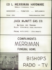 Page 128, 1957 Edition, Throckmorton High School - Greyhound Yearbook (Throckmorton, TX) online yearbook collection