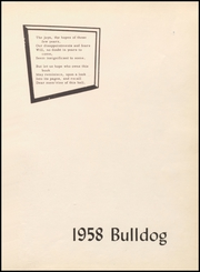 Page 5, 1958 Edition, Eden High School - Bulldog Yearbook (Eden, TX) online yearbook collection