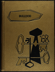 1968 Edition, Eden High School - Bulldog Yearbook (Eden, TX)
