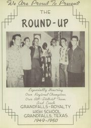 Page 7, 1950 Edition, Grandfalls Royalty High School - Round Up Yearbook (Grandfalls, TX) online yearbook collection