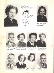 Page 10, 1950 Edition, Pilot Point High School - Echo Yearbook (Pilot Point, TX) online yearbook collection