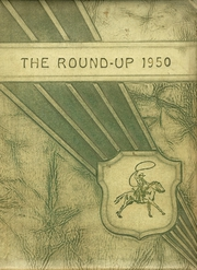 1950 Edition, Happy High School - Roundup Yearbook (Happy, TX)