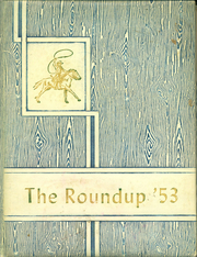 1953 Edition, Happy High School - Roundup Yearbook (Happy, TX)