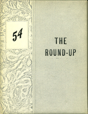 1954 Edition, Happy High School - Roundup Yearbook (Happy, TX)