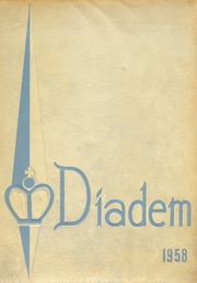 Page 1, 1958 Edition, Marian High School - Diadem Yearbook (Bellaire, TX) online yearbook collection