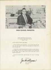 Page 9, 1960 Edition, Bronte High School - Longhorn Yearbook (Bronte, TX) online yearbook collection