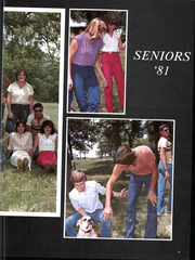 Page 13, 1981 Edition, Water Valley High School - Wildcat Yearbook (Water Valley, TX) online yearbook collection