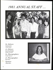 Page 14, 1981 Edition, Water Valley High School - Wildcat Yearbook (Water Valley, TX) online yearbook collection
