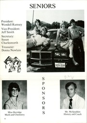Page 14, 1982 Edition, Water Valley High School - Wildcat Yearbook (Water Valley, TX) online yearbook collection