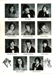 Page 16, 1982 Edition, Water Valley High School - Wildcat Yearbook (Water Valley, TX) online yearbook collection