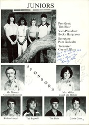 Page 17, 1982 Edition, Water Valley High School - Wildcat Yearbook (Water Valley, TX) online yearbook collection