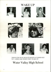 Page 6, 1982 Edition, Water Valley High School - Wildcat Yearbook (Water Valley, TX) online yearbook collection