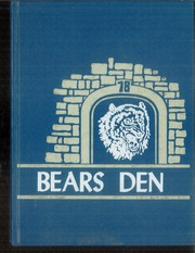 Page 1, 1978 Edition, Frost High School - Bears Den Yearbook (Frost, TX) online yearbook collection
