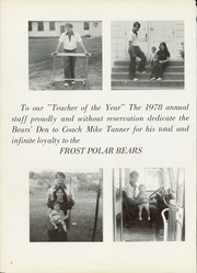 Page 6, 1978 Edition, Frost High School - Bears Den Yearbook (Frost, TX) online yearbook collection