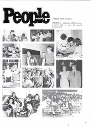 Page 13, 1984 Edition, Miles High School - Bulldog Yearbook (Miles, TX) online yearbook collection