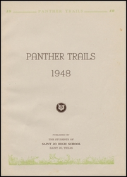 Page 5, 1948 Edition, St Jo High School - Panther Trails Yearbook (St Jo, TX) online yearbook collection
