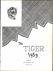 Page 5, 1959 Edition, San Isidro High School - Tiger Yearbook (San Isidro, TX) online yearbook collection
