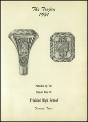Page 7, 1951 Edition, Trinidad High School - Trojan Yearbook (Trinidad, TX) online yearbook collection