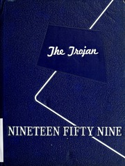 1959 Edition, Trinidad High School - Trojan Yearbook (Trinidad, TX)