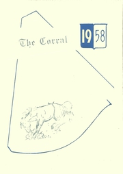 Wilson High School - Corral Yearbook (Wilson, TX) online yearbook collection, 1958 Edition, Page 1