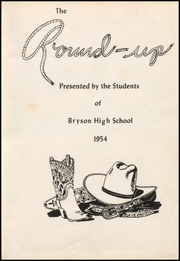 Page 7, 1954 Edition, Bryson High School - Roundup Yearbook (Bryson, TX) online yearbook collection