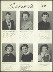 Page 16, 1954 Edition, Silverton High School - Owlet Yearbook (Silverton, TX) online yearbook collection