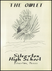 Page 5, 1955 Edition, Silverton High School - Owlet Yearbook (Silverton, TX) online yearbook collection