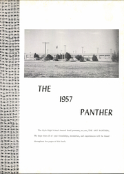 Page 5, 1957 Edition, Kyle High School - Panther Yearbook (Kyle, TX) online yearbook collection
