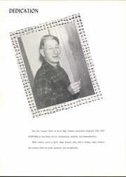 Page 6, 1957 Edition, Kyle High School - Panther Yearbook (Kyle, TX) online yearbook collection