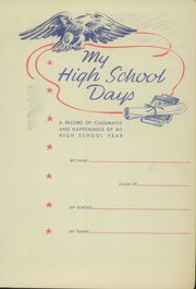 Page 5, 1943 Edition, Cumby High School - Trojan Yearbook (Cumby, TX) online yearbook collection