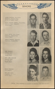 Page 15, 1944 Edition, Jayton High School - Jaybird Yearbook (Jayton, TX) online yearbook collection