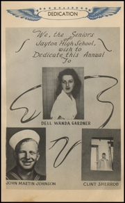 Page 7, 1944 Edition, Jayton High School - Jaybird Yearbook (Jayton, TX) online yearbook collection