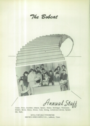 Page 6, 1954 Edition, Smyer High School - Bobcat Yearbook (Smyer, TX) online yearbook collection