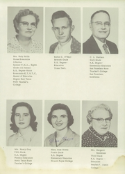Page 15, 1956 Edition, Borden High School - Coyote Yearbook (Gail, TX) online yearbook collection