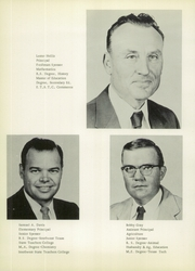 Page 14, 1957 Edition, Borden High School - Coyote Yearbook (Gail, TX) online yearbook collection