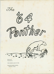 Page 5, 1964 Edition, Oakwood High School - Panther Yearbook (Oakwood, TX) online yearbook collection