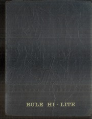 1939 Edition, Rule High School - Rule Hi Lite Yearbook (Rule, TX)