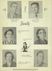 Page 12, 1952 Edition, Klondike High School - Cougar Yearbook (Lamesa, TX) online yearbook collection