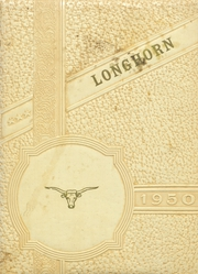 Buena Vista High School - Longhorn Yearbook (Imperial, TX) online yearbook collection, 1950 Edition, Page 1