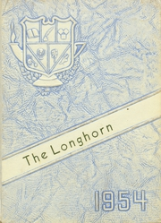 Buena Vista High School - Longhorn Yearbook (Imperial, TX) online yearbook collection, 1954 Edition, Page 1