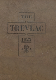 Calvert High School - Trevlac Yearbook (Calvert, TX) online yearbook collection, 1922 Edition, Page 1