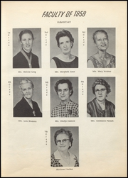 Page 13, 1959 Edition, Calvert High School - Trevlac Yearbook (Calvert, TX) online yearbook collection