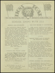 Page 7, 1941 Edition, Leveretts Chapel School - Lion Yearbook (Overton, TX) online yearbook collection