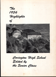 Page 5, 1956 Edition, Covington High School - Owl Yearbook (Covington, TX) online yearbook collection