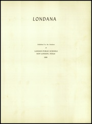 Page 5, 1950 Edition, London High School - Londana Yearbook (New London, TX) online yearbook collection