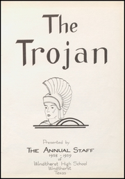Page 5, 1959 Edition, Windthorst High School - Trojan Yearbook (Windthorst, TX) online yearbook collection